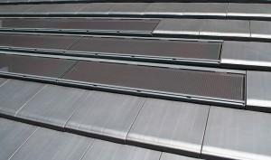 フルフラット平板瓦(カネカ瓦一体型太陽電池VISOLA搭載)